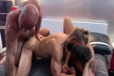 naughty three-some - Morgxn Thicke, Adam Russo & Jack Andy